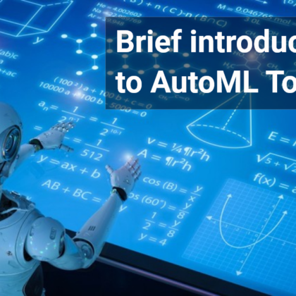 A brief introduction to AutoML tools 47billion